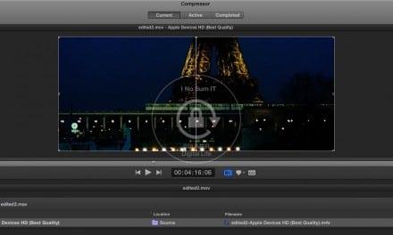 Mac OS X, 인터넷에서 다운로드한 동영상 변환 마스터하기